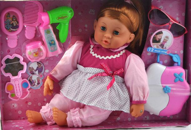 Znalezione obrazy dla zapytania DUZA PIEKNA LALKA INTERAKTYWNA 12 PIOSENEK +ZESTAW zabawki-dominik